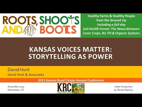 KANSAS VOICES MATTER - David Hunt