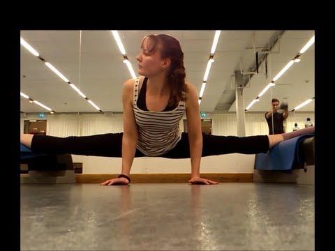 suspended middle splits frontbend split rolls back ankle