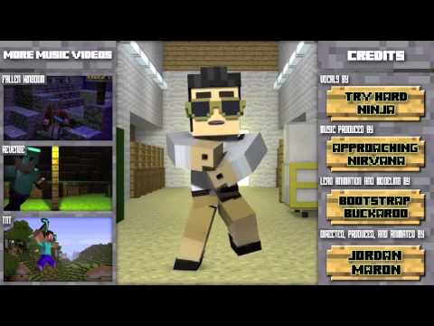 Minecraft style sped up 800%