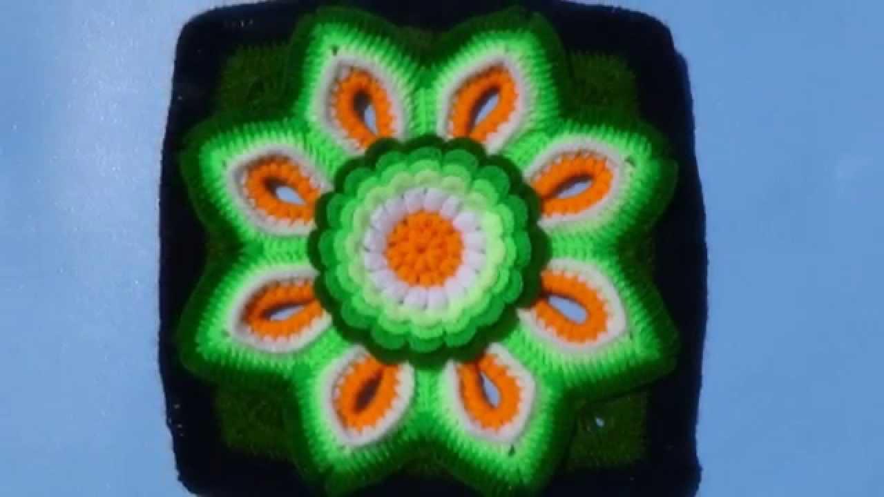 Muestras de tejidos a crochet para colchas de colores - Colchas a ganchillo muestras ...