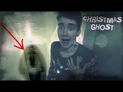 GHOST HAUNTING CAUGHT ON TAPE (HAUNTED CHRISTMAS)
