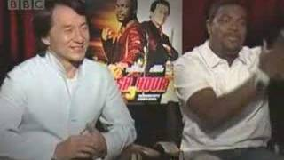 Jackie Chan and Chris Tucker Talk Rush Hour 3 - BBC Movies