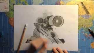 ♔Drew♔ | Amazing Ballista Speed Drawing | By Dw_Braves for CoDQG