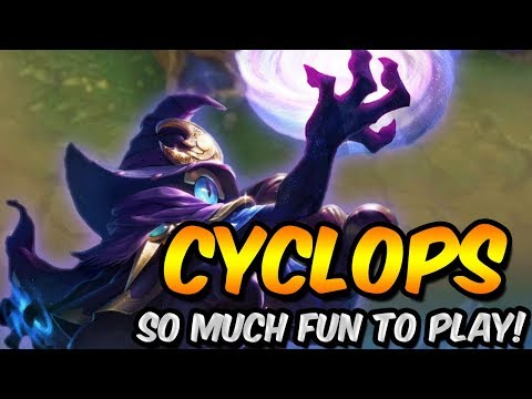 CYCLOPS IS TOO STRONG AND FUN TO PLAY! - MOBILE LEGENDS