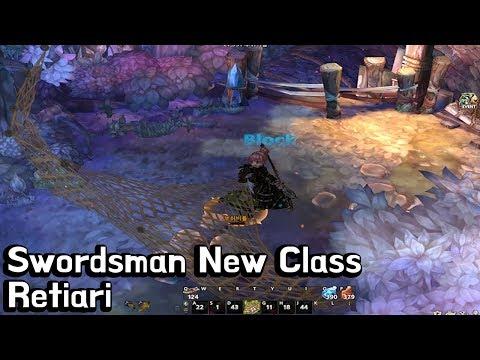 [TOS] Swordsman New Class Retiari