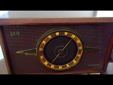 1956 RCA Victor 6 RF 9 Am/Fm Tube Radio (RESTORED!!)