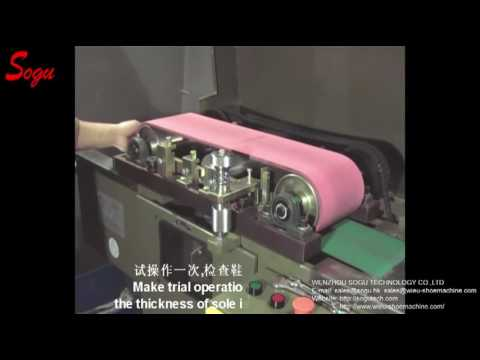 OUTSOLE FLUFF BUFFING MACHINE(SINGLE BELT)