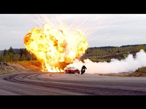 画像: StuntFreaksTeam - Car vs Bike youtu.be