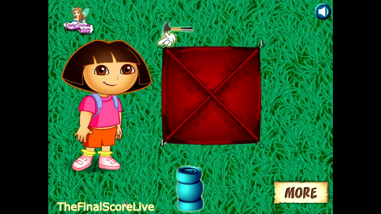 Play Dora The Explorer Game online free,Treasure Hunt for kids