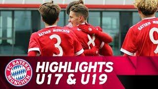 U17 feiert Kantersieg, U19 dreht Rückstand | Highlights FC Bayern Campus