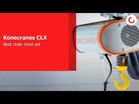 CLX Electric Chain Hoist by Konecranes