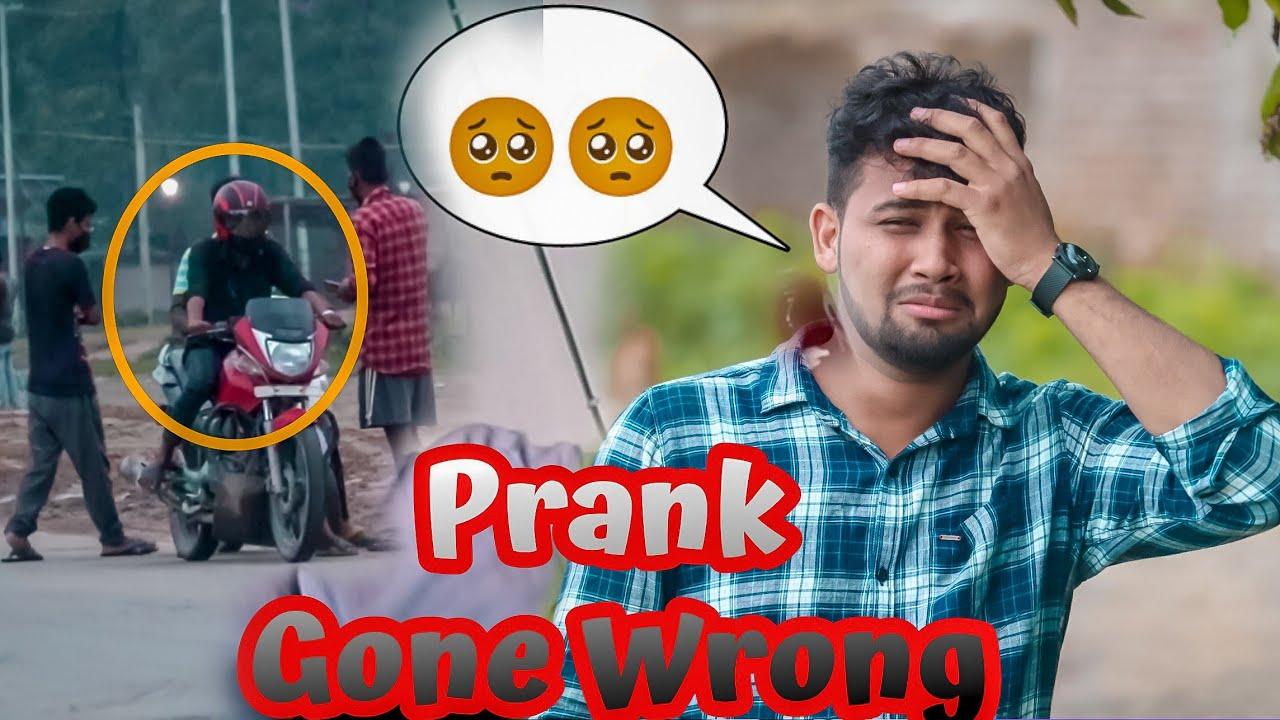 PRANK GONE WRONG 😡 // Demow Prank