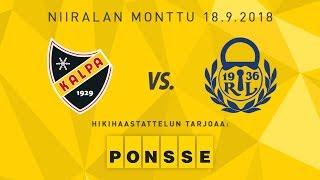 KalPa - Lukko, 18.9.2018, hikihaastattelu: Sami Kapanen ja Denis Godla