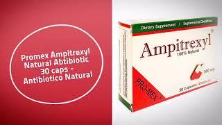 Promex Ampitrexyl Natural Abtibiotic 30 caps - Antibiotico Natural
