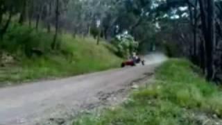 Billy Kart Jumps & Big Crash
