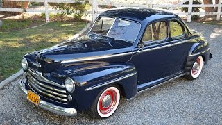 1948 Ford Custom Coupe, CA Car, 350V8, A/C, Restored, SOLD