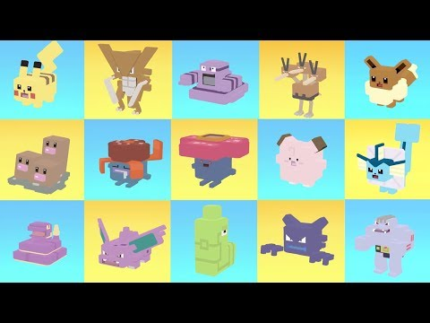 ALL POKEMONS EVOLUTIONS In ONE VIDEO - (Before And After The Evolution) Pokemon Quest