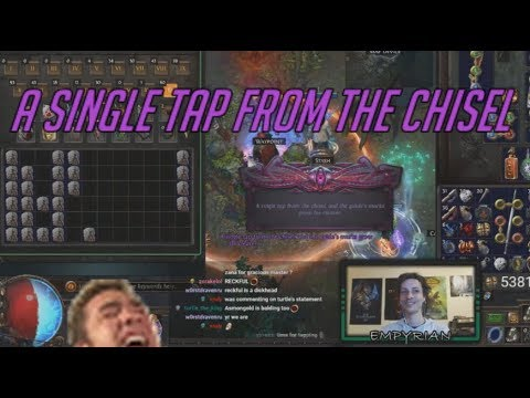 [PoE] Stream Highlights #168 - A single tap from the chisel