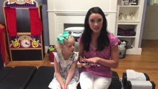 Pediatric Chiropractor Dothan AL Demonstrates Pediatric Adjustment