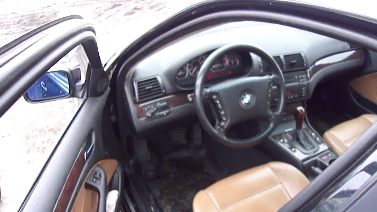 2002 BMW 330xi.Start Up, Engine, and In Depth Tour.   YouTube
