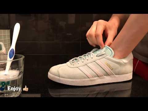 Cleaning my Adidas Gazelle