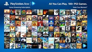 Playstation Now Trailer (ps4)