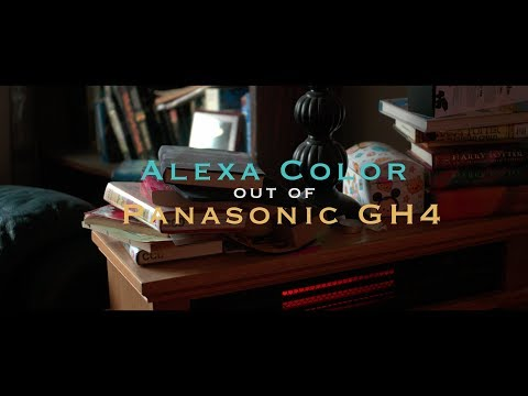 Alexa Color out of Panasonic GH4 | Viltrox Speedbooster | Sigma 18-35mm