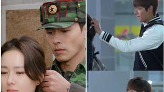 Kim Tan Vs Ri Jeong Hyeok💖Kdrama Ponytail Scenes Whatsapp Status💖Leeminho,Hyun bin💖Heirs,Cloy
