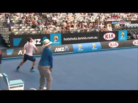 AO 2014 Round 1 : Andy Murray [4] vs Go Soeda (720p HD)