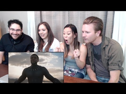 Black Panther Teaser Trailer Reaction And Review  (Ft. Late To The Party)