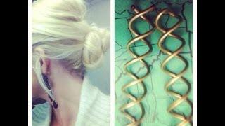 ♥ Romantic Updo ♥  Easiest Bun Hairstyle Ever! Thumbnail