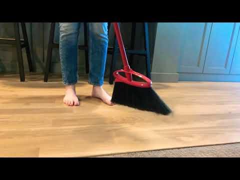 Asmr Sweeping Wood Floor Youtube
