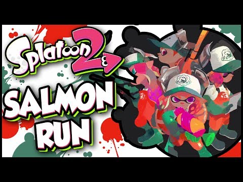 Splatoon 2 - Salmon Run With Subscribers Part 2! Get Profreshional!