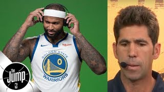 Warriors GM on when DeMarcus Cousins called: 'I thought he was just upset' | The Jump