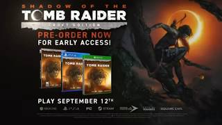 SHADOW OF THE TOMB RAIDER Jungle Gameplay NEW Demo Walkthrough PS4/Xbox One/PC (2018)