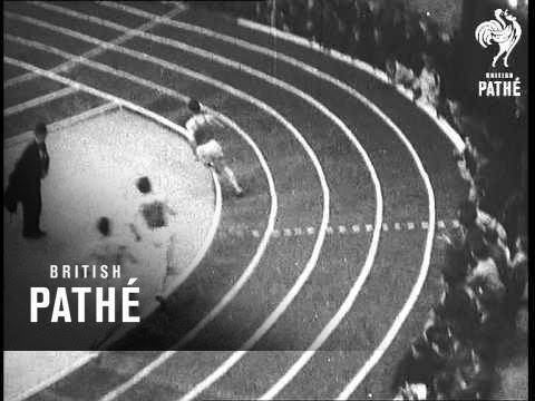 Indoor Track Meet At Boston Lner (1938)