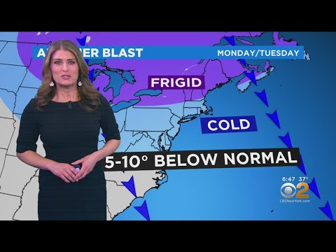 New York Weather: CBS2 6:30 p.m. Forecast