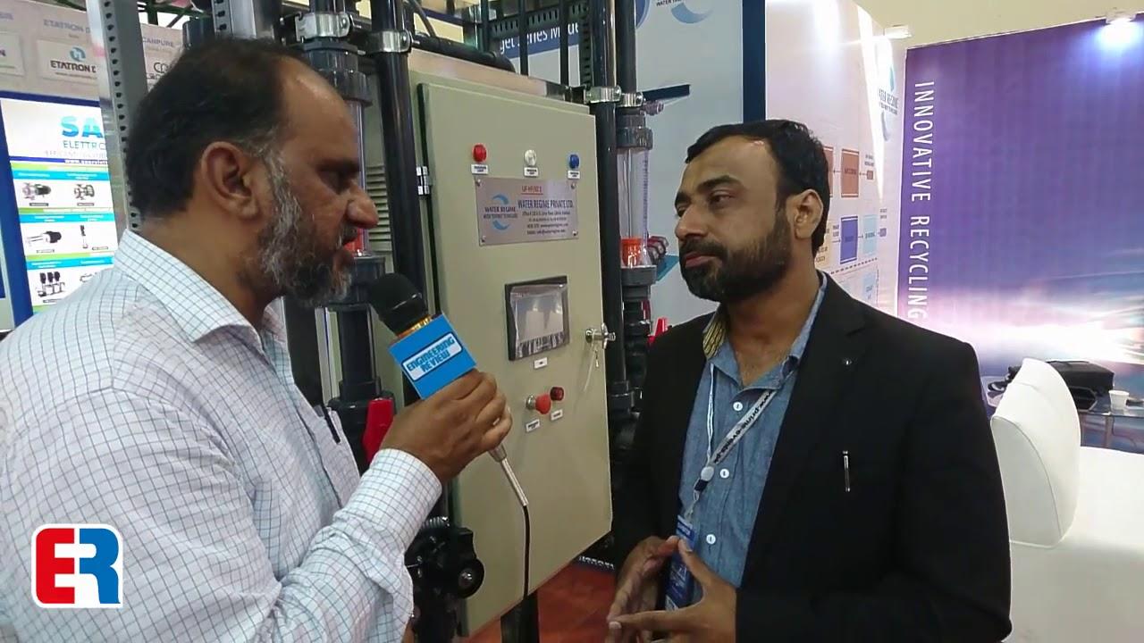 Mr. Muhammad Tehseen From Water Regime Talks To ER In Pak Water And Energy Expo 2019! #Regime