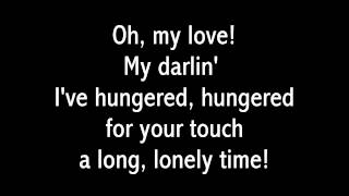 Righteous Brothers - Unchained Melody (1990 Remake with Lyrics)