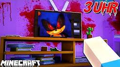 SPIELE UM *3:00 UHR* NACHTS NIEMALS SONIC AUF PLAYSTATION IN MINECRAFT!