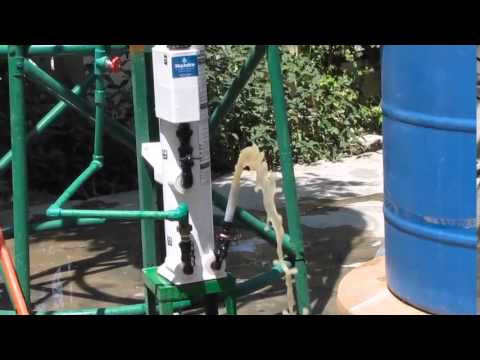 Water Treatment by Membrane Filtration using Sky Hydrant, Kabul
