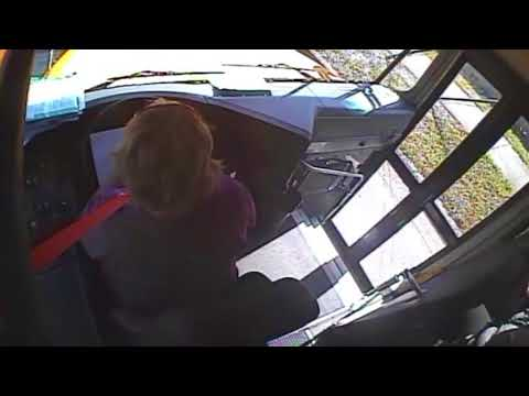 Detectives look for woman involved in school bus road rage incident