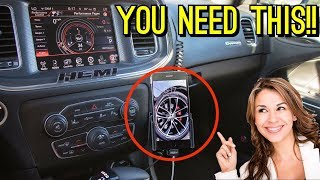 How To Install ProClip Phone Mount In A Dodge Charger And First Impressions! ✔️