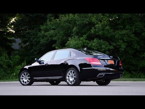 2011 Hyundai Equus WINDING ROAD Quick Drive