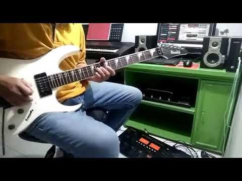 Tabir kepalsuan -  Rhoma Irama : guitar cover by: Arnos kamjet