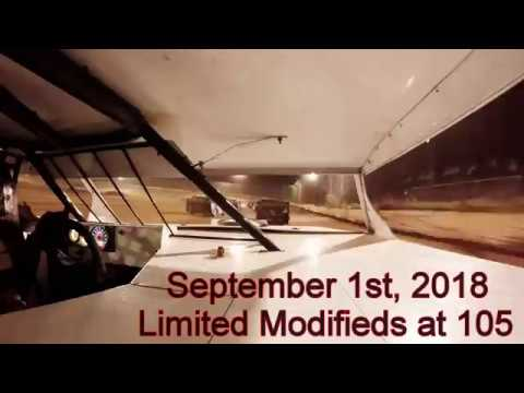 105 Speedway - Limited Modifieds - Feature - September 1st, 2018