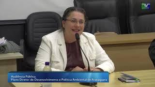 Audiência Pública Plano Diretor de Desenvolvimento e Política Ambiental 11-07-2019