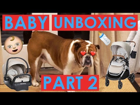 big baby unboxing part 2 w/ Leigh! | tarte talk