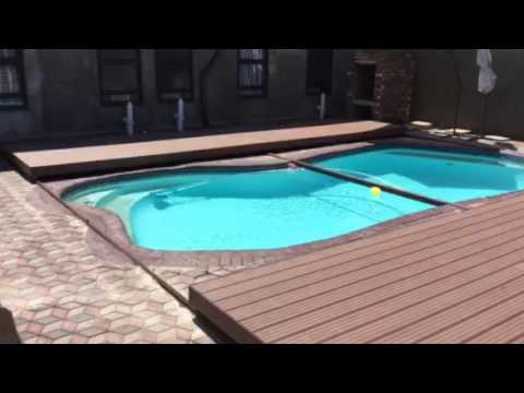 4everdeck sliding pool deck youtube - Covering a swimming pool with decking ...