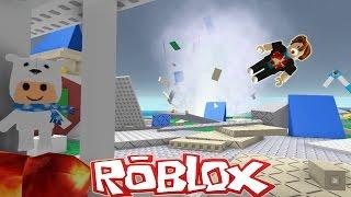 Roblox / Natural Disaster Survival / Tornado and Volcano!? / Gamer Chad Plays